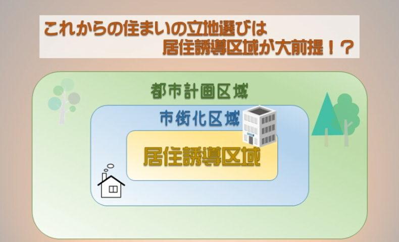 これからの住まいの立地選びは居住誘導区域が大前提!?